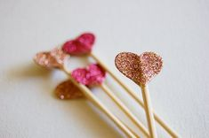 DIY or Buy: glitter toppers/stirrers