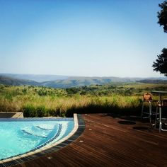 Pool at the Maropeng Hotel in the Cradle of Humankind, UNESCO World Heritage Site, South Africa. www.instagram.com/melanieferis
