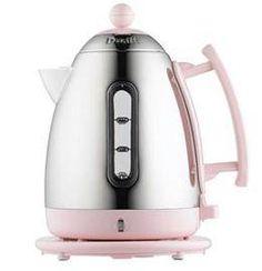 Smeg KLF02PKUK 50 - s Retro Style Variable Temperature Pink Kettle from Kensington Domestic Appliances
