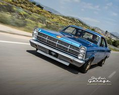 1966 Ford Fairlane GTA with a C6 Cobra Jet transmission. 390/335hsp. Back then 0 to 60 seconds was fast - Jay Leno.