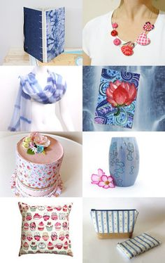 Sunday Pretties by Coralie Milne on Etsy--Pinned with TreasuryPin.com