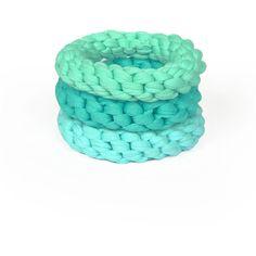 SAAKO DESIGN BRACELET#BRS1302 ($30) ❤ liked on Polyvore featuring jewelry, bracelets, accessories, pulseras, bijoux, turquoise bangle, aqua jewelry, saako, turquoise jewelry and green turquoise jewelry