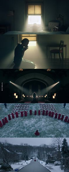 The Handmaid's Tale - - Cinematography at its best - Cinematic Photography, Film Photography, Film Composition, Cinematic Lighting, Pose Reference Photo, Film Movie, Movies, Best Cinematography, Light Film