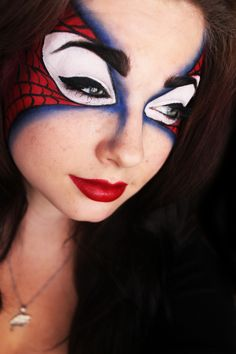 Spidey Mask....love this style..im def gonna have to try it :)
