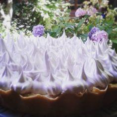 Lemon Pie-Sin gluten... una delicia para el mate!