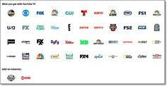 canales youtube tv