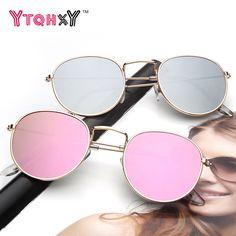 >> Click to Buy << Hot Selling Retro sunglasses women men brand designer Alloy mirror oculos de sol round sun glasses for women YS36 #Affiliate