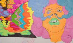 Volao no Rasta - Estilografo y Plumones Sharpie - 2015  #dibujo #arte #psicodelia #trip #JhetroMan #psychedelic #drawing #ilustration