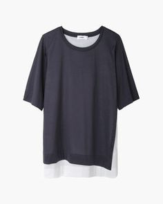 Jil Sander  Bi-color Layered T-Shirt