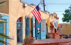 Old Town Albuquerque- nice walk on July 5.
