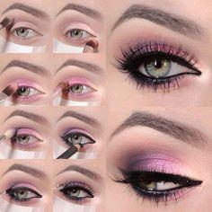 Descubre cómo maquillar tus ojos con estos impresionantes tutoriales a todo color.