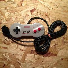 NES dog bone controller