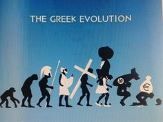 The greek evolution over the years...