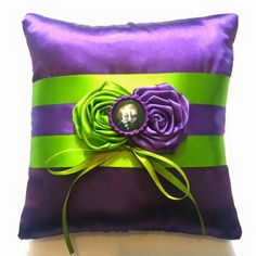 The Joker Wedding Ring Pillow by scarboroughrose on Etsy