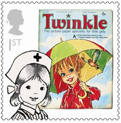 New stamps honour comic icons!  This was my first comic!