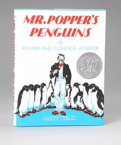 Mr. Popper's Penguins, I'll always remember there are no penguins at the North Pole because the polar bears would eat them