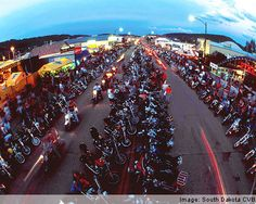 Sturgis Motorcycle rally, Black Hills, South Dakota ( so much fun...been there!)