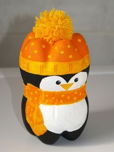 Plastic Bottle Penguin | Arts & Crafts | Pinterest