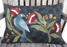 William Morris Inspired Pillow by Butternut Plaid
