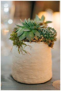 rustic wedding centerpiece idea; Love Life Images