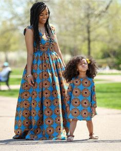 Ankara Stunts For Mother And Daughter in October 2018 - WearitAfrica