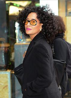 soph-okonedo:   Tracee Ellis Ross visits 'Good... | Fashion Frenzy