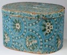 Wallpaper | Bandbox Oblong Floral Motif Blue Ground 20