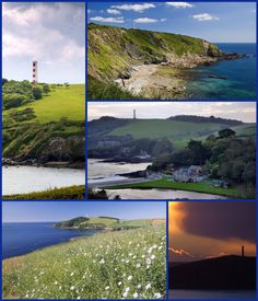 GRIBBEN HEAD OR GRIBBIN HEAD (Cornish: an Gribyn): a promontory on the south coast of Cornwall. It separates St Austell Bay from the estuary of the River Fowey and is marked by a large tower used to aid navigation of ships approaching the local harbours. The western point of the headland is called Little Gribben. Inland, to the north, is the Menabilly estate built for the Rashleigh family and later home to author Daphne du Maurier.