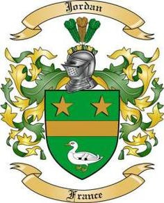 french jordan coat of arms - Google Search