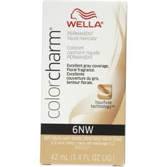 Wella Color Charm 6NW Dark Natural Warm Blonde Permanent Liquid Hair Color Value Packs (2 pcs) by PandG ** You can find out more details at the link of the image. (Amazon affiliate link)