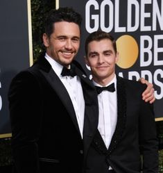 #jamesfranco #davefranco at the #goldenglobes  supporting #timesup and for their movie #thedisasterArtist