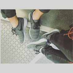 Couples matching Nikes!