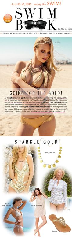#AnimaBeachwear is going for the gold!