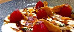 Ensalada de yogur y tomate con salsa de tamarindo