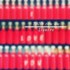 Dillo con un Liquore Mignon di Liquore personalizzate - Bomboniere 3cl € 1.80/pz