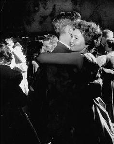 U.S. High school dance, 1955.