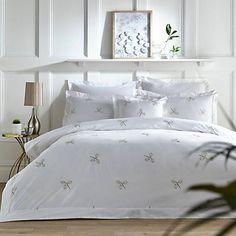 Honesty Embroidered Duvet Cover & Oxford Pillowcase Set