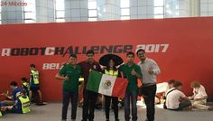 Alumnos del IPN ganan plata y bronce en RobotChallenge