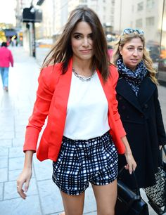 Nikki Reed - Arriving @ Good Day NY   November 4, 2013