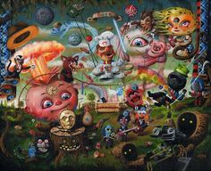 Surreal art by Marc Brown