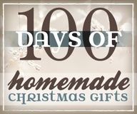 A list of ideas for 100 Homemade Christmas Gifts!  These are excellent ideas and so very helpful since I sometimes have a hard time coming up with ideas on my own.  They would also make fun birthday presents.