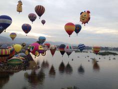 ¿Por qué los globos despegan en la misma dirección? http://www.siempreenlasnubes.com/Blog/wordpress/?p=1050 Ven a #volarenglobo con Siempre en las nubes