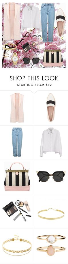 """""""Lolve """" by lizbeth-olvera ❤ liked on Polyvore featuring Rebecca Minkoff, Kate Spade, Topshop, Y's by Yohji Yamamoto, Tammy & Benjamin, Fendi, Borghese, Lana, Accessorize and Movado"""