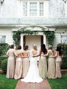 Oregon wedding inspired by old Hollywood