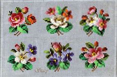 Bunches of flowers cross stitch patterns Cross Stitch Love, Cross Stitch Cards, Cross Stitch Flowers, Cross Stitch Designs, Cross Stitching, Cross Stitch Embroidery, Embroidery Patterns, Hand Embroidery, Cross Stitch Patterns