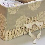 10 Basket Liner Tutorials & Patterns: {Sewing}