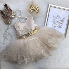 Girls champagne and gold sequins big bow dress easter dress pageant dress birthday dress sequin bow dressformal dress Christmas dress Baby Pageant Dresses, Baby Girl Party Dresses, Birthday Dresses, Little Girl Dresses, Baby Dress, Flower Girl Dresses, Bridesmaid Dresses, Wedding Dresses, Teen Dresses