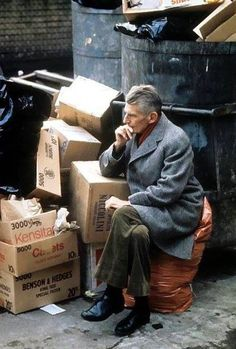 """There's no cure for that."""" Samuel Beckett, photo by Jerry Bauer. Samuel Beckett, Book Writer, Book Authors, Julien Gracq, August Strindberg, James Joyce, Writers And Poets, Robert Doisneau, Playwright"""
