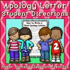 This handout gives clear, explicit instructions for a child learning how to write a letter of apology.  Help your students learn about empathy by t...