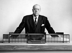 Ludwig Mies Van Der Rohe was a German Architect, known as the leader of International Style. Born: March 27, 1886, in Aachen, Germany. Died: August 17, 1969, Chicago, Illinois.